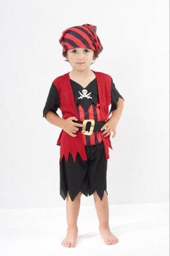 Imagen de pirate  disfraz de pirata para niño, talla 2  3 años cc019