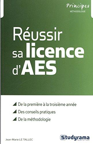 Réussir sa licence d'AES