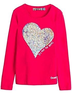 Desigual Ts_Saskatchewan, Camiseta de mangas largas para niñas