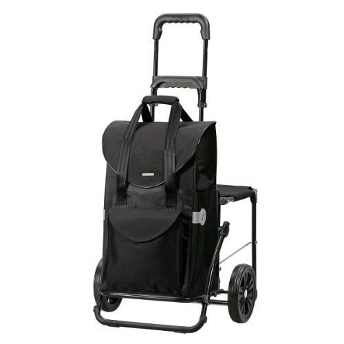 Andersen Shopper Komfort und Einkaufstasche Senta schwarz 49 Liter