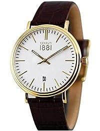 Cerruti 1881 CRA111SG01BR Reloj de pulsera para hombre