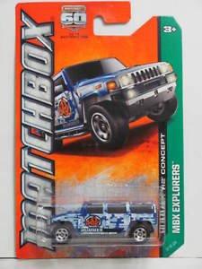 Preisvergleich Produktbild Matchbox MBX Explorers Hummer H2 Concept # 97 of 120 60th Anniversary Series by Matchbox
