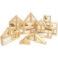 Holzspielzeug EDUPLAY 120353 Regenbogenblocks Gross