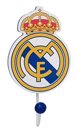 Real Madrid GP-01-RM Gancho de Pared de Madera