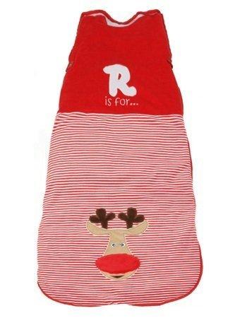 Dream Bag Baby-Ganzjahresschlafsack 2.5 Tog - Red Reindeer - 70 cm