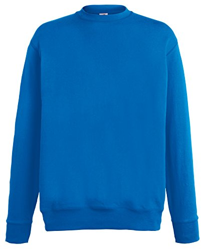 Fruit of the Loom Lightweight Set-in Sweatshirt - 14 Farben/Größe SML-2XL Royal Blue