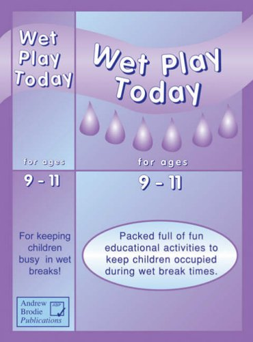 Wet play today for ages 9-11 : packed full of fun educational activities to keep children occupied during wet break times