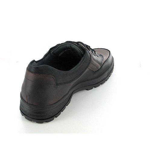 MEPHISTO BARRACUDA GORE B818AM3 hommes Chaussures à lacets Noir