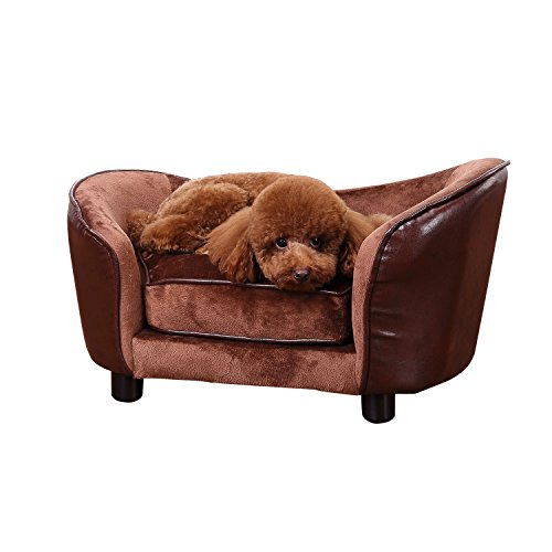 luxury cat beds furniture. pawhut luxury pet sofa dog bed chair puppy cat kitten soft mat home indoor couch house w cushion coffee small beds furniture y