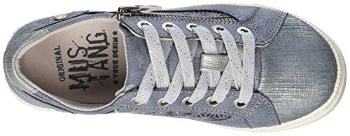 Mustang 5042-302-875, Sneakers Basses Fille Bleu (875 Sky)