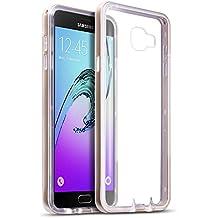 Samsung Galaxy A7 2016 Funda Protectiva de Policarbonato Bumper - Dorado