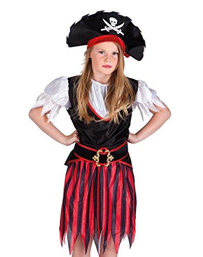 Annie Ideen Kostüm (Boland 82155 - Kinderkostüm Piratin Annie,)