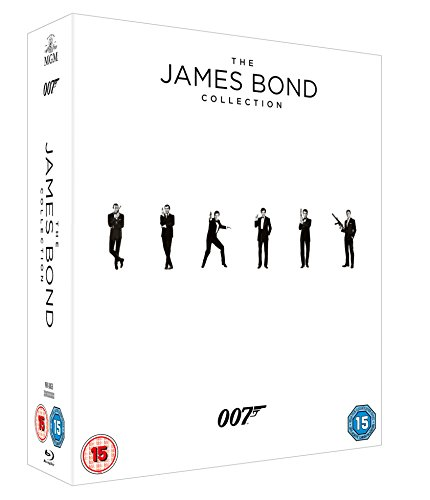 Golden Collection (James Bond - 23 Film Collection [Blu-ray] [2015])
