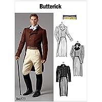 Butterick Patterns 6573 Mqq - Chaqueta para Hombre, Talla 46-52,, 17 x 0,5 x 22 cm