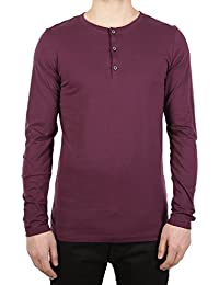 Iriedaily - T-Shirt à manches longues - Homme Rouge Rouge