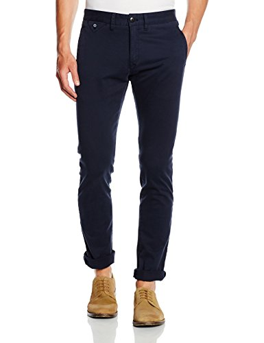 Tommy Hilfiger Denim - Slim Chino Bstt Pd, Pantaloni da uomo, Azul, 34W x 32 L