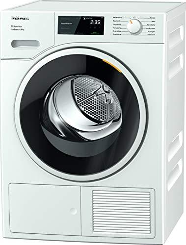 Miele TSF 643 WP Wärmepumpentrockner mit 8kg Schontrommel, FragranceDos2, 24h Startvorwahl, Trommelbeleuchtung, 11 Programmen und Perfectdry