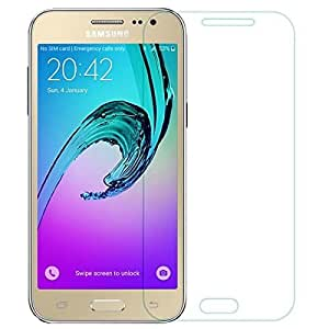 FashionBazar presents Samsung J2 (2016) Pro HD+ 9H Hardness Toughened Tempered Glass Screen Protector for Samsung J2 (2016) by Fashion Bazar FREE Installation Kit