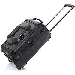 GLADIATOR 075804 2019 Bolsa de Viaje, 55 cm, 25 litros, Negro