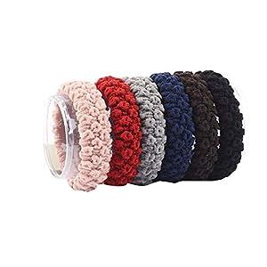 aimaoer Kopfseil Kleine, Frische Und Einfache Persönlichkeit Horsetail Frau Nahtlose Krawatte Haar Gummiband Haar Ring Kopfbedeckung