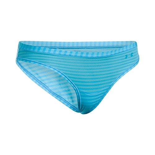 Under Armour Sheers Bikini Novelty sous-Vêtement Femme Island Blues