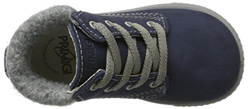 Primigi Pbz 8550, Scarpe da Ginnastica Basse Bimbo Blu (Azzurro/grigio)
