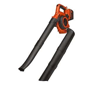 Black + Decker Lithium GWC3600L20 Aspirateur-souffleur à feuilles 3 en 1 avec batterie au lithium 36 V 2 Ah