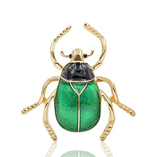 SODIAL Cute Kaefer Broschen Unisex Emaille Brosche Pin Mode Insekt Wintermantel Zubehoer Geschenk