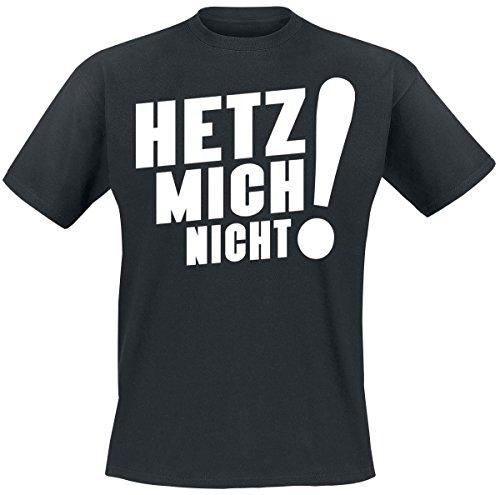Sascha Grammel Hetz mich nicht! T-Shirt nero S