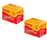 Kodak Color Plus - Carretes de fotos de 35 mm y 200/36, lote de 2 unidades -