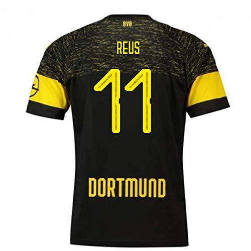 2018-2019 Borussia Dortmund Puma Away Football Soccer T-Shirt Camiseta (Marco Reus 11)