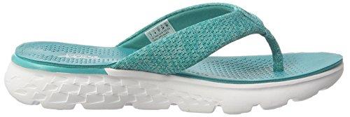 Skechers On-the-Go 400-Vivacity, Flip Flop Donna Verde (teal)