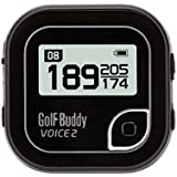 New Golf Buddy 'voix 2' Clip ceinture Parcours de golf Système GPS sans frais jamais Noir