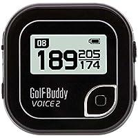 NEW GOLF BUDDY 'VOICE 2' BELT CLIP GOLF COURSE GPS SYSTEM NO FEES EVER BLACK
