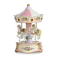THE SAN FRANCISCO MUSIC BOX COMPANY Classic Horse Musical Carousel