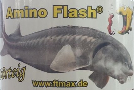 AMINO FLASH Stör Teig - PELLET - Grundpreis : 29,75 €/ kg -