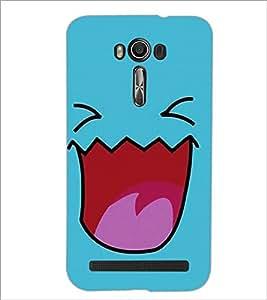 Printdhaba Cartoon D-2413 Back Case Cover For Asus Zenfone 2 Laser Ze550Kl