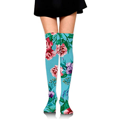 ouyjian Knee High Socken Rosebush Long Socken Boot Stocking Compression Socken for Women (Store Online Target)