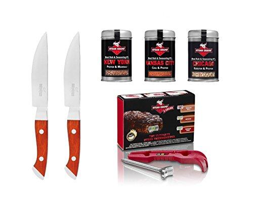 Steak Champ Gourmet Set regalo - 3-color