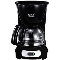 Smart Home Heiße Getränke Drip Kaffeemaschine Elektrische Automatische Tee Maker 650 Watt ( Farbe : Schwarz )