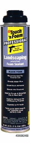 touch-n-foam-4006002450-landscaping-polyurethane-sealant-black