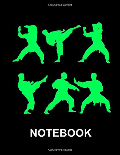 Notebook. For Karate Martial Arts Fans. Blank Lined Notebook Planner Journal Diary. (Uniform Judo)
