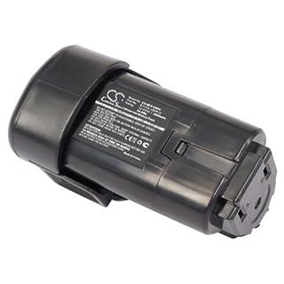 CS Werkzeug Akku Li-ion 2000mAh / 24.0Wh 12.0V passend für Black & Decker BDCDMT112, EGBL108, EGBL108KB, GKC108, HPL106, HPL10IM, HPL10RS, LDX112, LDX112C, PSL12 / ersetzt Black & Decker LBXR12, BL1110, BL1310, BL1510, LB12, LBX12