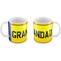 Personalised Car Registration Number Plate Mug 86 funny gift idea kids son daughter mum dad nan grandad aunt uncle cousin friend valentines birthday christmas