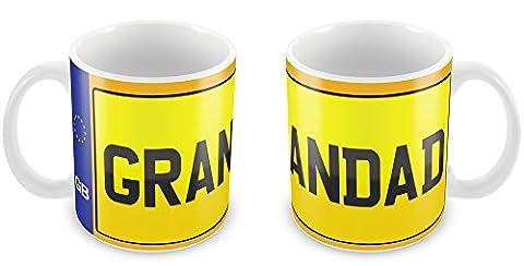 Personalised Car Registration Number Plate Mug 86 funny gift idea kids son daughter mum dad nan grandad aunt uncle cousin friend valentines birthday