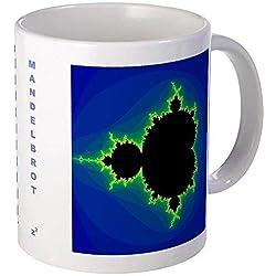 Taza de café grande fractal de Mandelbrot
