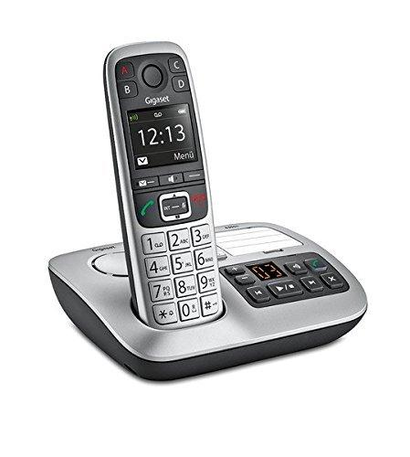 Gigaset E 550 A Telefono Cordless con Segreteria,