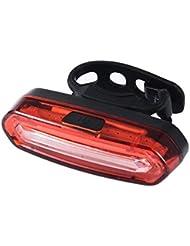Fastar Luz trasera brillante estupenda de la bicicleta USB Recargable Luces traseras para vehículos universales