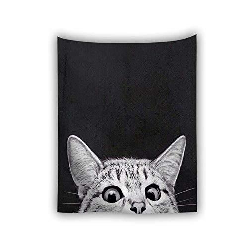 1 Was Katze 2 Kostüm Hat - mmzki Niedliches Tier süße Katze Digitaldruck Kinderteppich/Strandtuch M 150X150cm