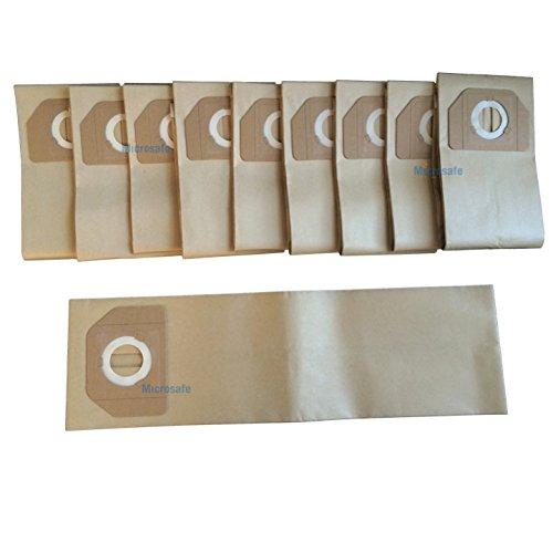 10 Staubsaugerbeutel zu Kärcher A2701, A2801, A 2701 2801 wie original 6.904-263 von Microsafe®